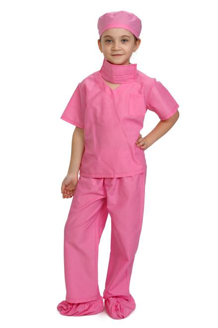 Pink Doctor Scrubs