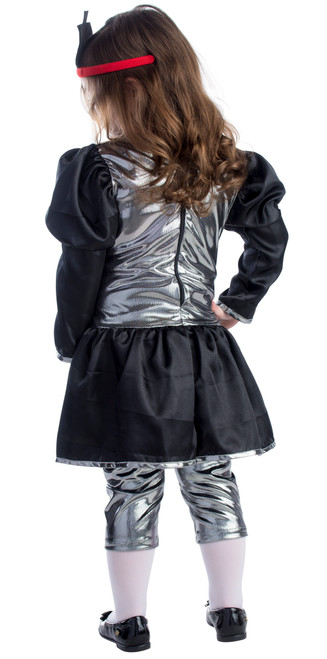 Toddler Energizer Battery Girl Dress Costume2