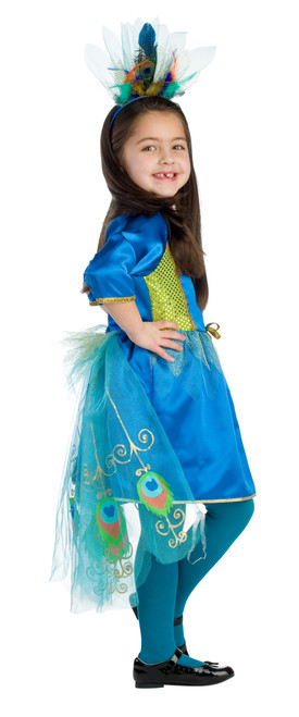 Kids Proud Peacock Costume by Dress Up America