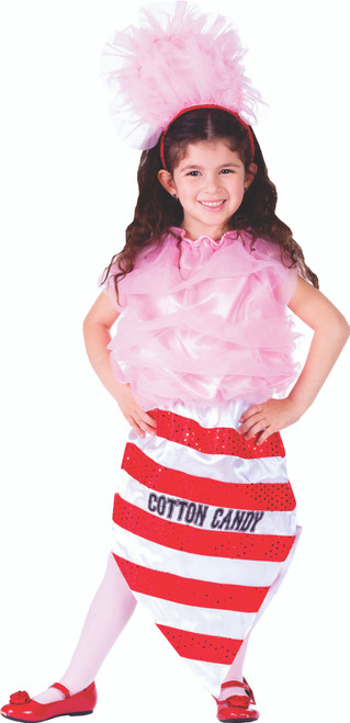 Little Girl Cotton Candy Costume By Dress Up America