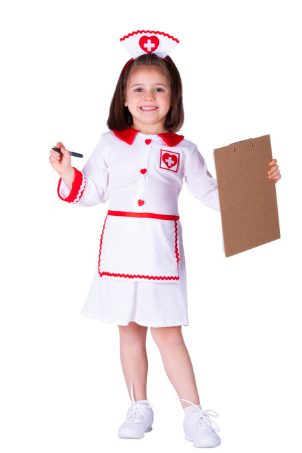 Cute Red Cross Nurse Costume By Dress Up America