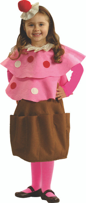 Sweet Little Creamy Cupcake Costume By Dress Up America