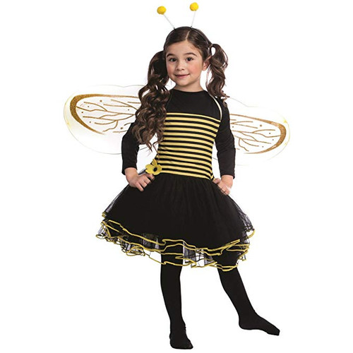Bumblebee Costume Set for Girls Bumble bee Dressy - Dress Up America