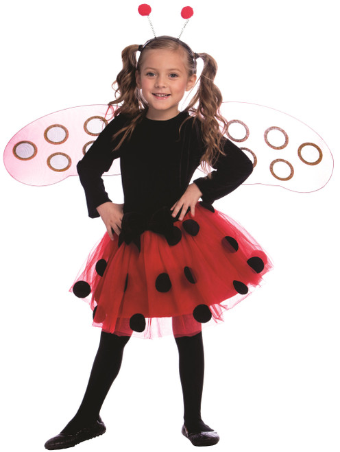 Ladybug Dress Costume Set for Girls Dress Up America