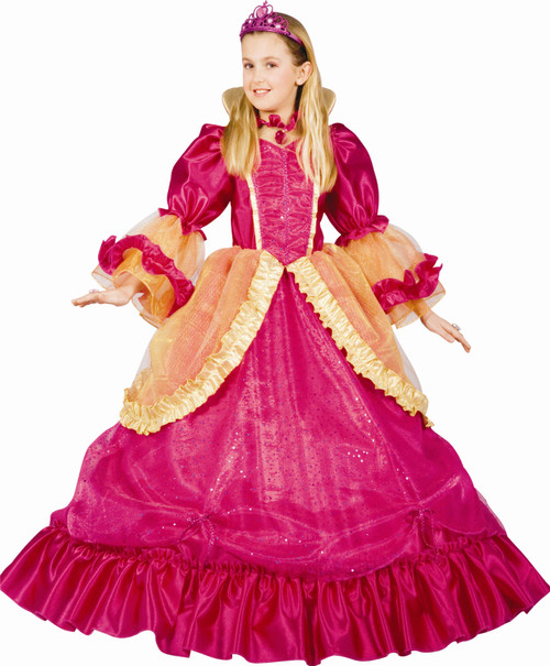 Pretty Princess Children's Costume By Dress Up America