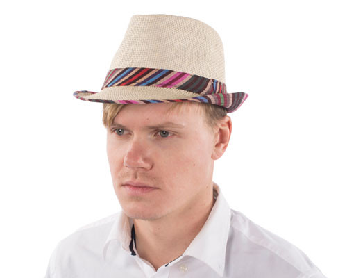 Colorful Band Fedora Hat