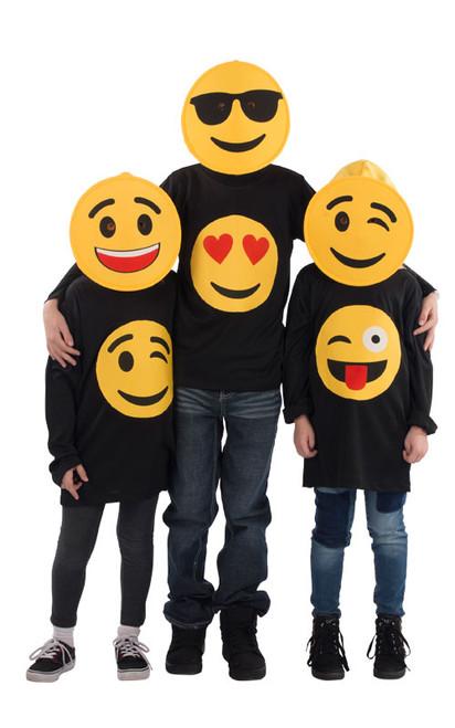 Winking Emoji T-Shirt -Kids