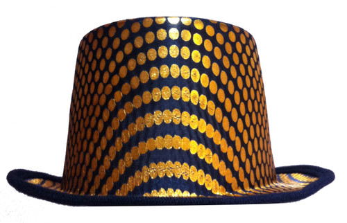 Gold Squared Top Hat