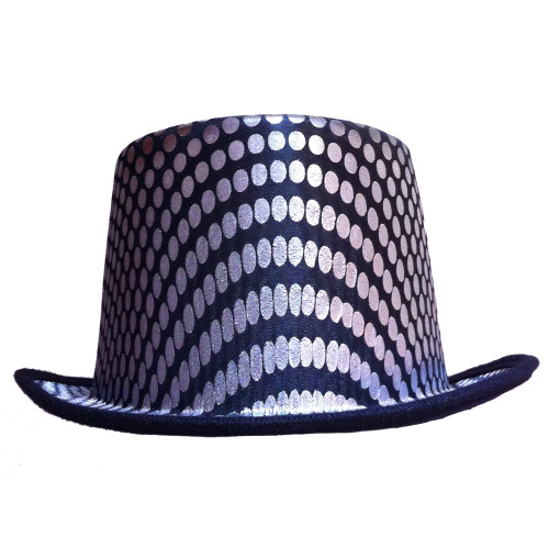 Silver Squared Top Hat