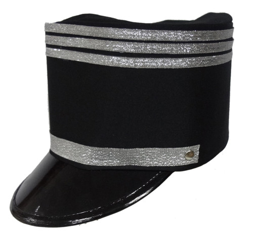 Black Marching Band Hat