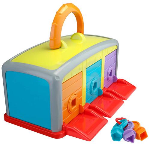 Playkidz Super Durable Monster Garage Monster Vehicle Car Garage Toys for kids