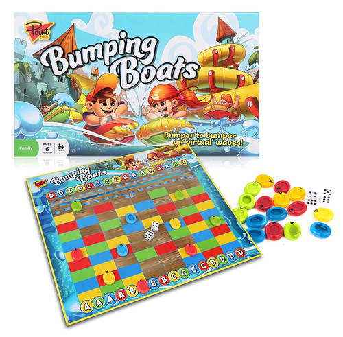 Bumping Boats - Game of Bumping or Being Bumped!