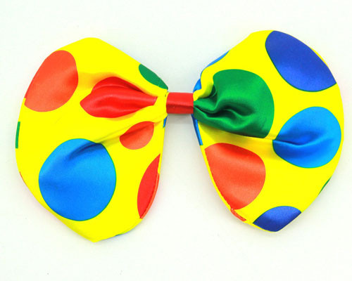 Polka Dot Clown Bow Tie