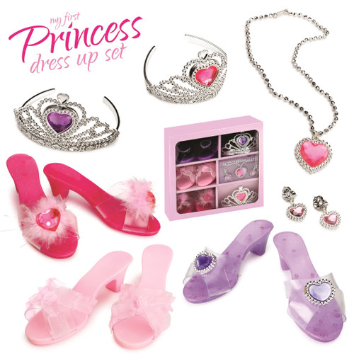Dress Up America - My First Princess Accessory Dress Up Set