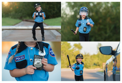 Police Chief Role Play Set - Ages 3-6