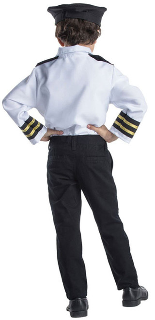 Airline Pilot Role Play Set Costume for Kids- Age 3-6