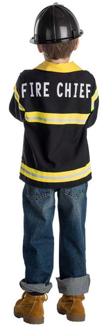 Fire Chief Role Play Set Costume for Kids- Age 3-6
