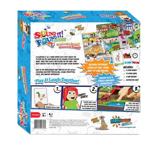 Sound It! Found It! Junior Board Game
