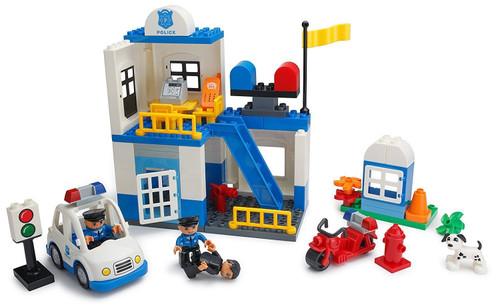Play Build Police Station Building Blocks Set