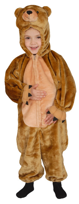 Sweet Cuddly Little Brown Bear Costume By Dress Up America