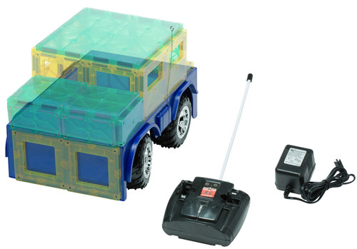 Playmags Remote Control Magnetic Car - Colors May Vary