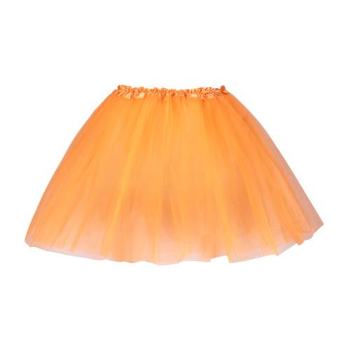 3 Layered Tutu Skirt, Set of 5 Colors - Orange, Light Pink, Green, Hot Pink and Lavendar