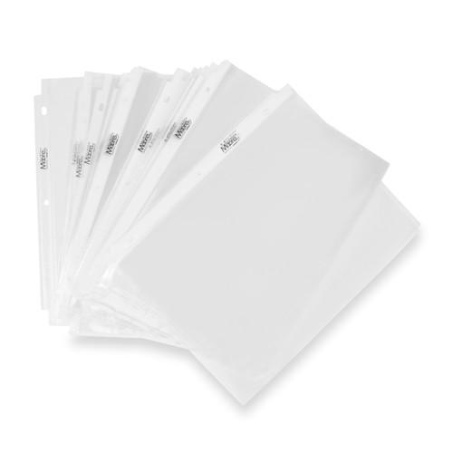 Moore Clear Sheet Protectors, Acid Free, Pack of 100 (2118)
