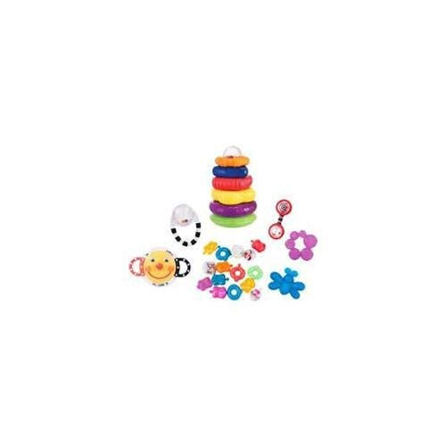 Sassy 21-piece Toy and Teether Gift Set - Assorted