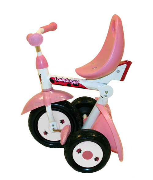 Kiddi-o by Kettler Fold 'n Ride Trike with Adjustable Seat: LadyBuggy, Youth Ages 1.5+