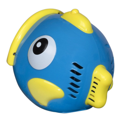 Bubble Play Bubble Fish - Powerful Battery Operated Bubble Blowing Machine for Kids w/ Large 50ml Soap Capacity & Motorized Rotating Wand System for 100's of Bubbles Per Minute - Perfect for Parties!