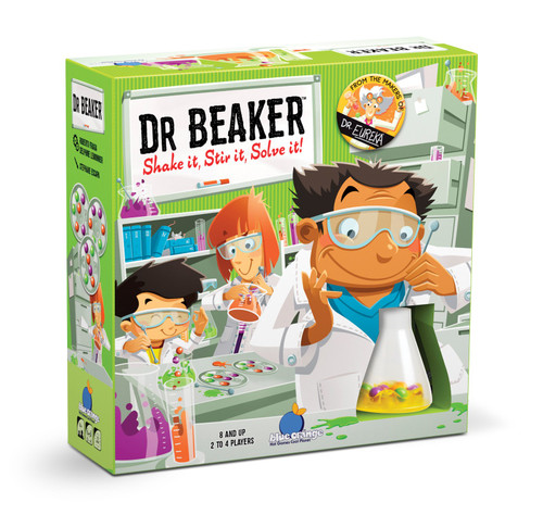 Blue Orange Games Dr. Beaker Science Speed Logic Board Game