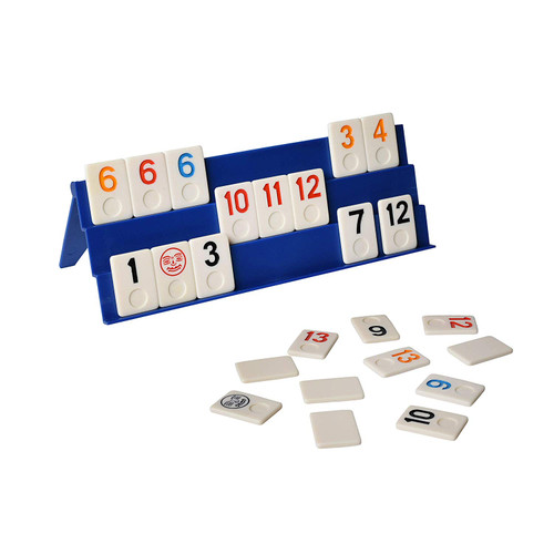 Point Games: Full Size Rummy Game with 3 Tier Exclusive Folding Boards in Super Durable Box.