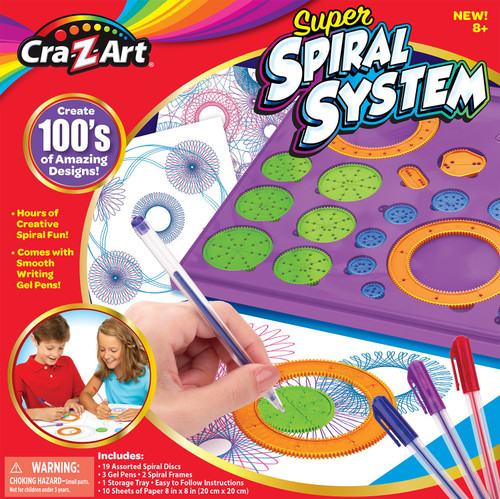 Cra-Z-Art Super Spiral System Set
