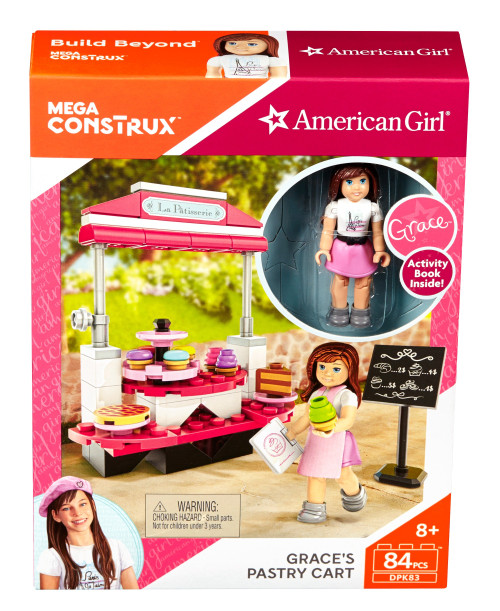 Mega Construx American Girl Grace's Pastry Cart