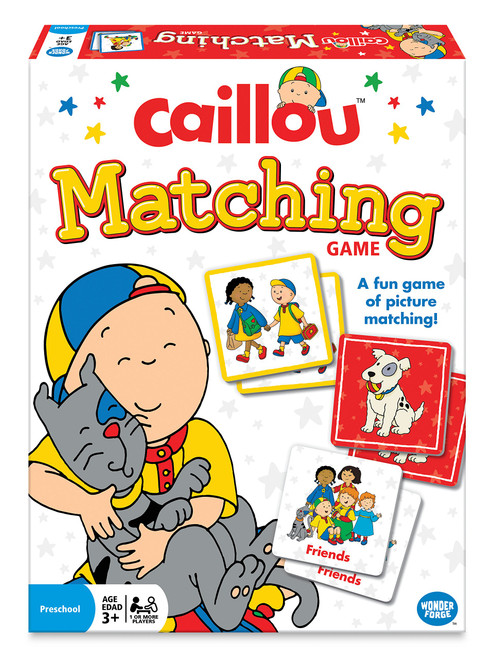 Caillou Matching Game