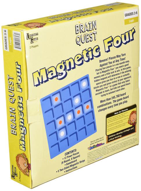 University Games Brain Quest - Magnetic Four