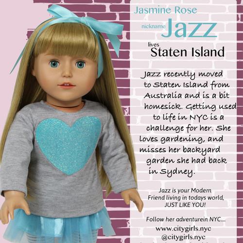 City Girls 18 inch Doll - Jazz