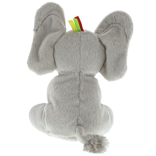 Baby GUND Flappy the Elephant Stuffed Animal Rattle Plush Toy, 5""