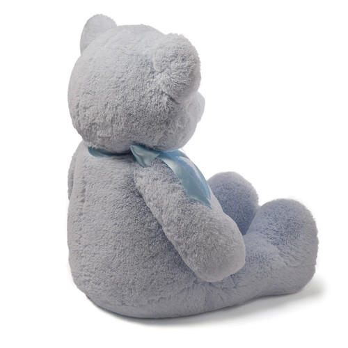 Baby GUND My First Teddy Bear Jumbo Stuffed Animal Plush, Blue, 36""