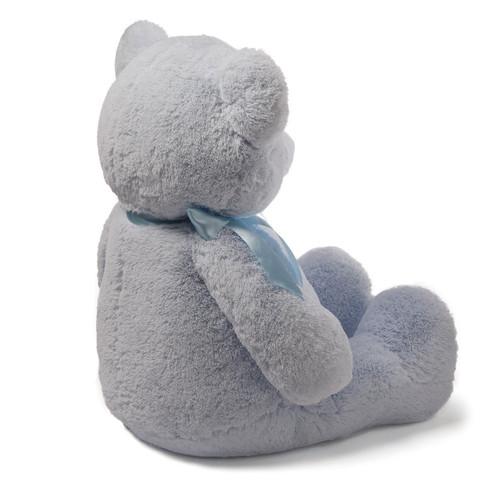 "Baby GUND My First Teddy Bear Jumbo Stuffed Animal Plush, Blue, 36"""
