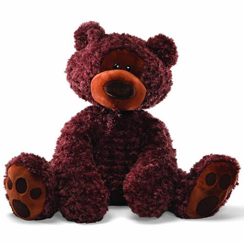 "GUND Philbin Teddy Bear Jumbo Stuffed Animal Plush, Chocolate Brown, 29"""
