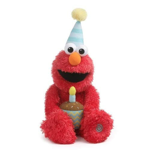 Gund 6054330 Animated Happy Birthday Elmo
