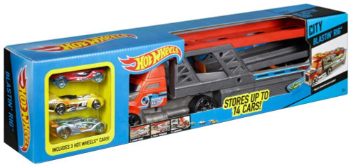 HOT WHEELS BLASTIN' RIG Vehicle