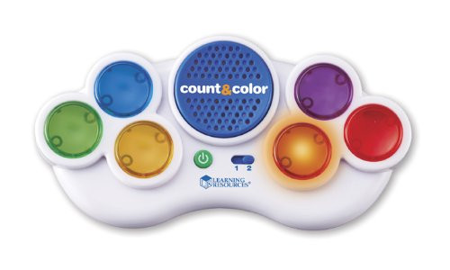 Learning Resources Count & Color Electronic Flash Card
