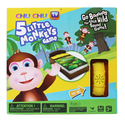 Cardinal Games Five Little Monkeys Game, Multicolor