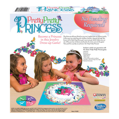 Winning Moves Games Pretty Princess Board Game