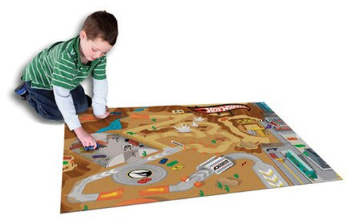 Schylling Playmat Rug with vehicle for kids indoor and outdoor play