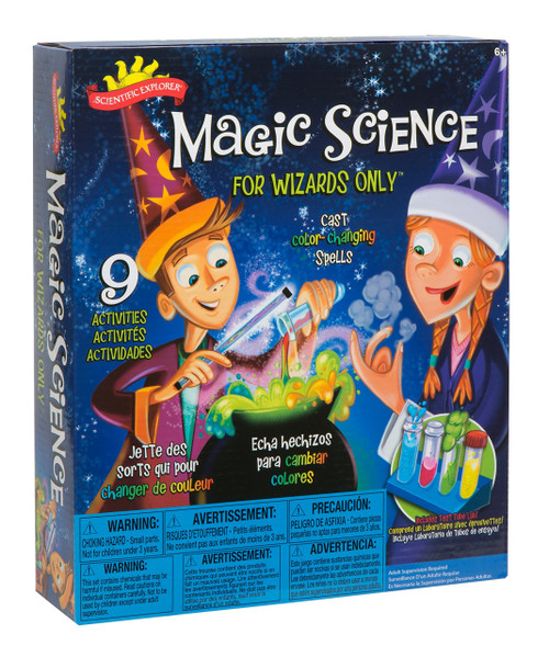 Scientific Explorer Scientific Explorer Magic Science for Wizards Only Kids Science Kit, A247