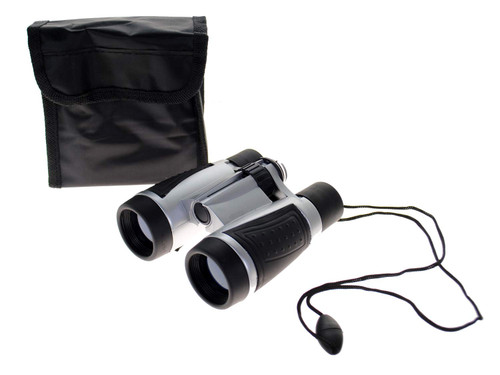Tradewinds 4x30 Binoculars with UV Lenses Built-in Compass & Case