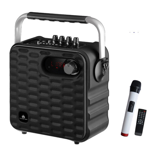 Audster AUD-T500 Portable Rechargeable Bluetooth 700W Speaker Muli-Colored (Black)